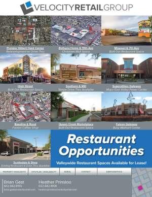 Restaurant Opportunities 1