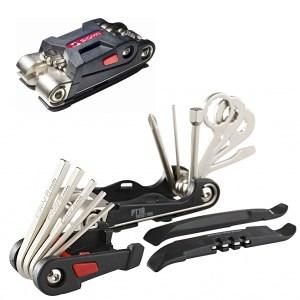 Manutenção da bicicleta -ferramentas e óleo