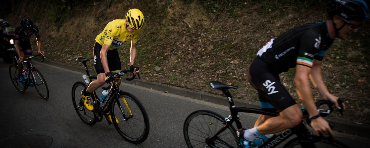 Roche - Froome Barguil