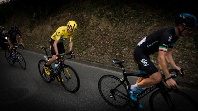 Roche - Froome - Barguil