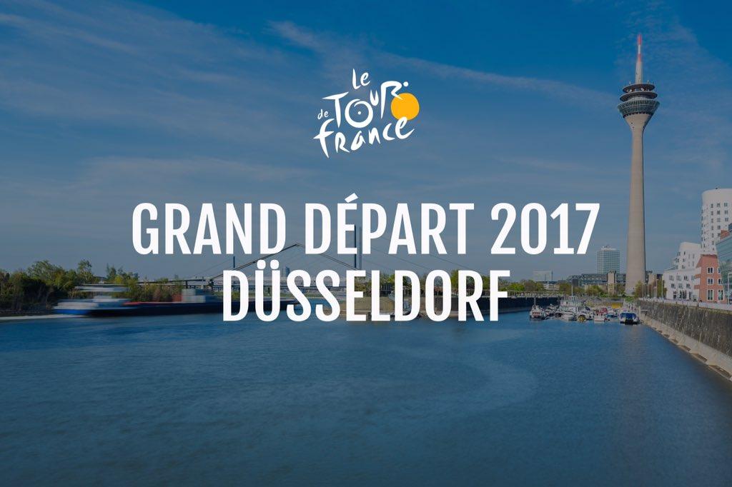 2017 Tour de France Route