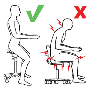 Good vs Bad Posture