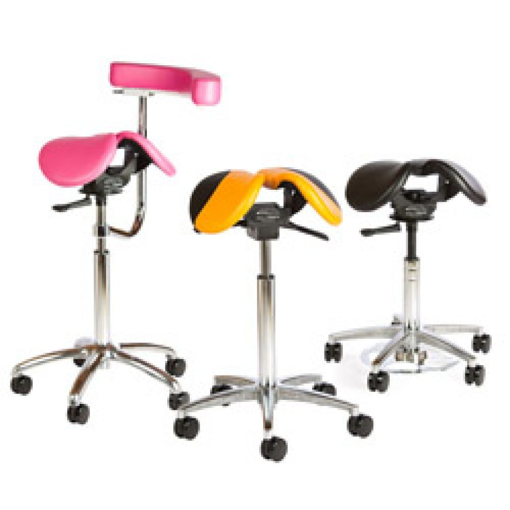 Salli Chair Salli Saddle Seats Two Part Ergonomic Dental Saddle Seats