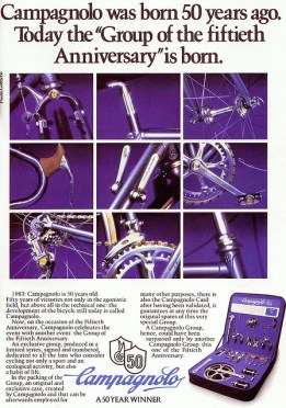 Campagnolo 50th groupset