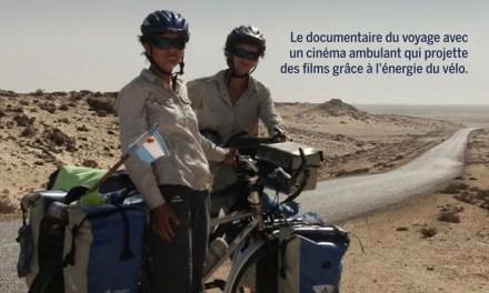 Le vélo-cinéma ambulant s'arrête à Genève