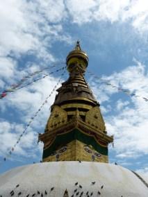 Stupa du temple des singes, Kathmandu, Nepal