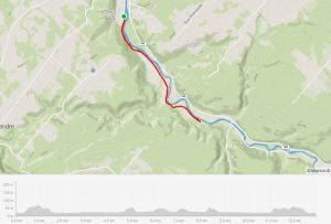Parcours Gravier Comme Piste Cyclable Matane Secteur Mont Castor