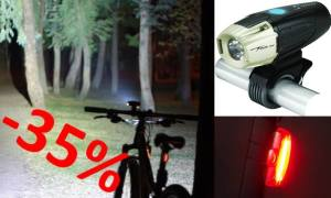 Promotion éclairage phare USB réduction