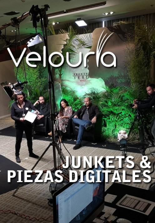 Junkets de Prensa & Piezas Digitales