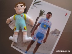 Andrey Mizurov and Andrey doll (image courtesy of Velolive website