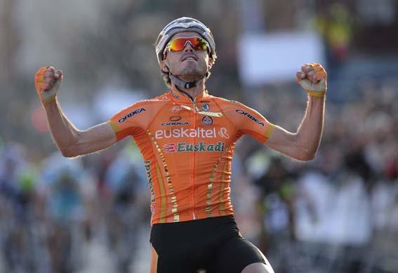 Samu Sanchez (image courtesy of Euskaltel-Euskadi website)