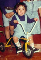 He started young (image courtesy of Joaquim Rodriguez)