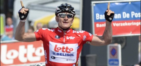 It's two from two at Tour of Belgium for Andre Greipel (image courtesy of Lotto-Belisol)