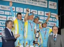 Astana: Top Team in Turkey (image courtesy of Astana)