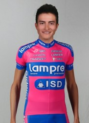 Young Winner Ancona (image courtesy of Lampre-ISD)