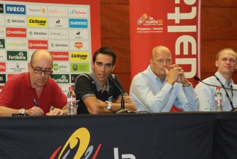 Alberto Contador's Vuelta Press Conference (image: Susi Goetze)