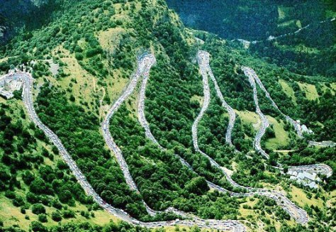 It's no coincidence that Alpe d'Huez appears on both the Dauphiné and Tour routes this year (Image: Wikipedia)