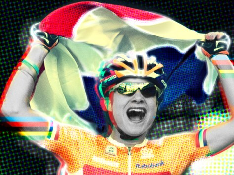 Knowing Vos, she'll probably celebrate her birthday by finding a race to compete in - and winning it (Image: Panache)