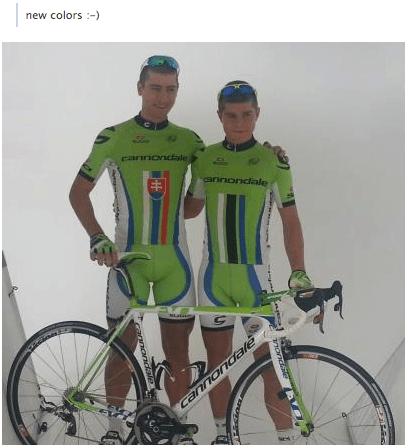 Sagan colours