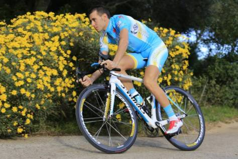 Nibali is the man in form (Image: Astana)