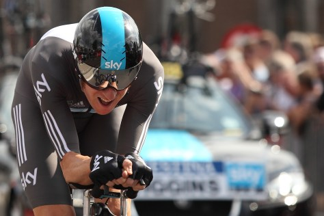 Time-trialling master class from Bradley Wiggins