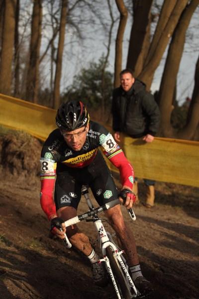 If it's Belgian cyclocross, it has to be Begian cx God Sven Nys
