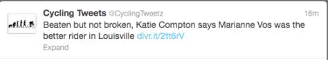 Compton's Vos comment