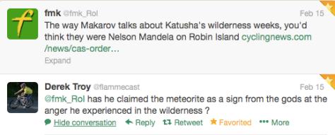 Katusha Makarov  wilderness 1