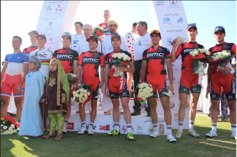 BMC took Best Team honours (image courtesy of Tour of Oman)