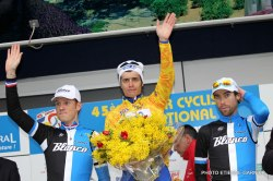 2013 podium l to r Boom, Vichot, Ten Dam (image courtesy of official race website)