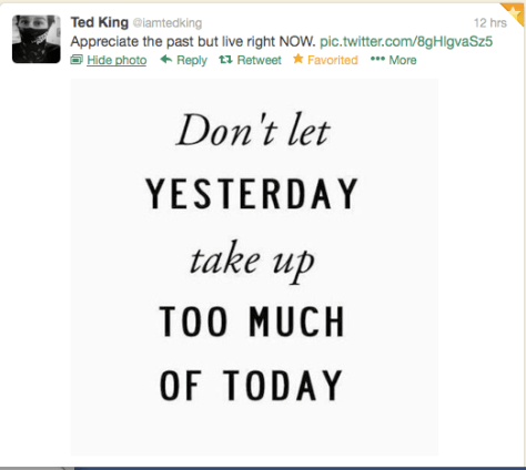 Last Word Ted King