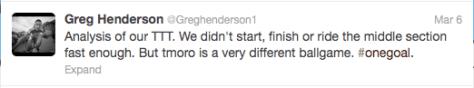 Tirreno TTT Henderson analysis