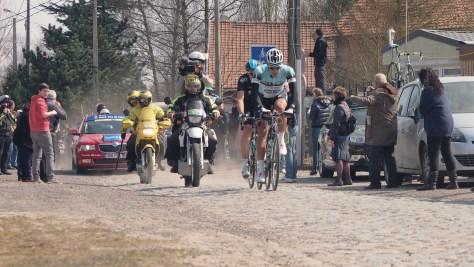 Break OPQS Roubaix CREDIT: JON BAINES