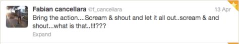 Fabs strange tweet 1