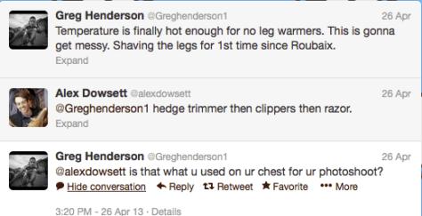 G Henderson shaving 1