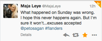 Maja Leye acceptance