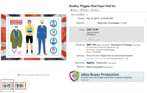 Wiggins paper doll