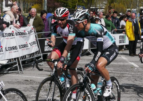 A bit of friendly advice to young compatriot Tony Martin (image: Richard Whatley)