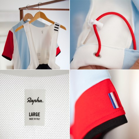 Rapha is all about luxurious details