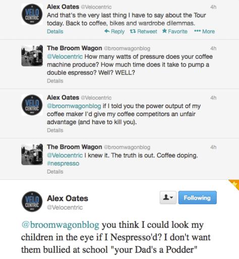 Alex coffee doping 1