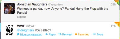 ST9 Vaughters panda WWF