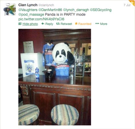 St9Vaughters Panda bar