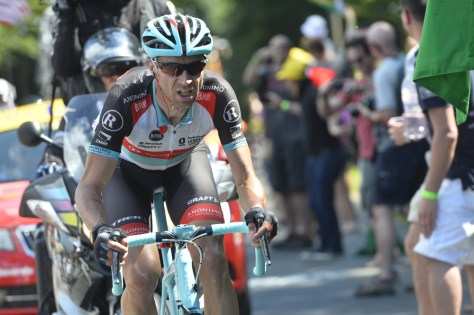 Voigt riding the only way he knows - hard (Image: Presse Sports)