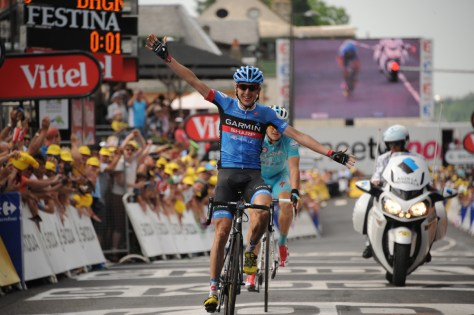 Martin takes victory on stage 9 and stakes his claim as a grand tour contender for the future (Image: ASO)