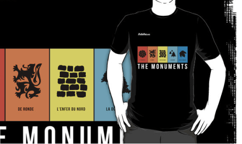 Monuments t-shirt