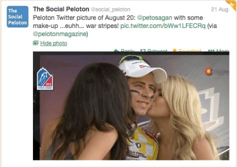 USPro Sagan with football stripes