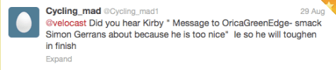 Commentary Kirby GreenEdge