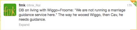 G Wiggo v Froome