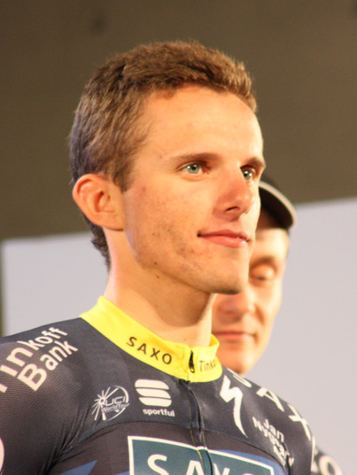 Majka was seventh overall last year and second in the best young rider competition. Can he improve this year? (Image: Wikipedia)