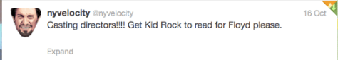 Armstrong film Kid Rock